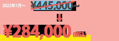 通常価格 ¥494,800が¥307,000(税込)